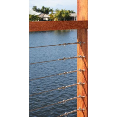 DIY Balustrade System For Timber Posts