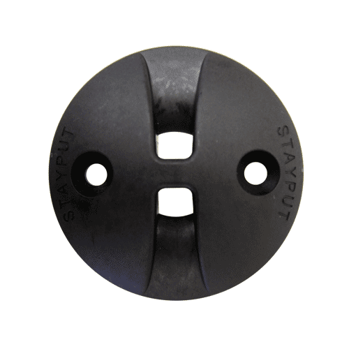 Stayput Dome Hook Saddle 60mm Black