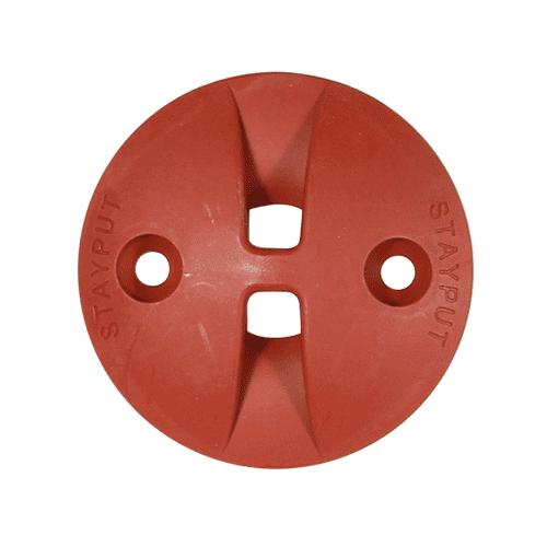 Stayput Dome Hook Saddle 60mm Terracotta