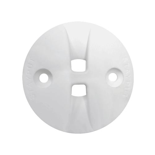 Stayput Dome Hook Saddle 60mm White
