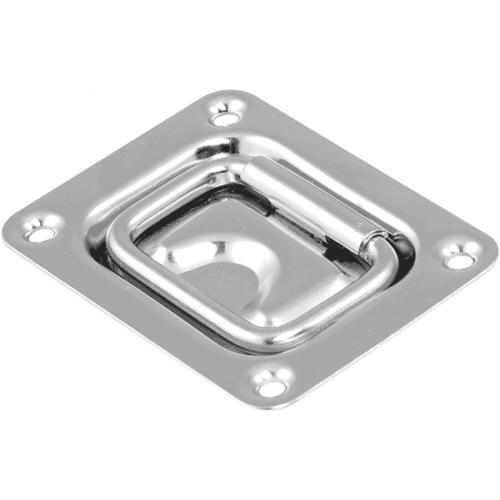 Flush Pull 76 x 57mm Pressed AISI 316