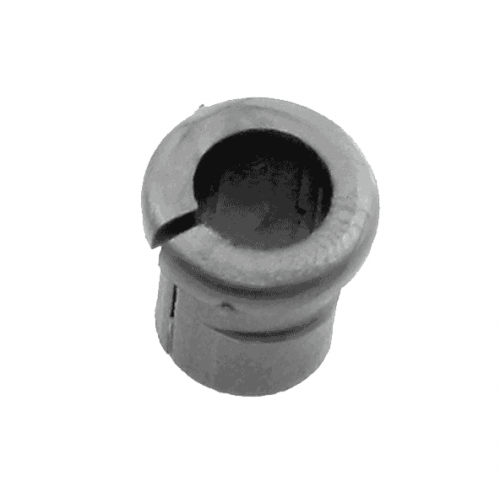 Grommet Grey with 6.2mm Centre Hole Flat Surface
