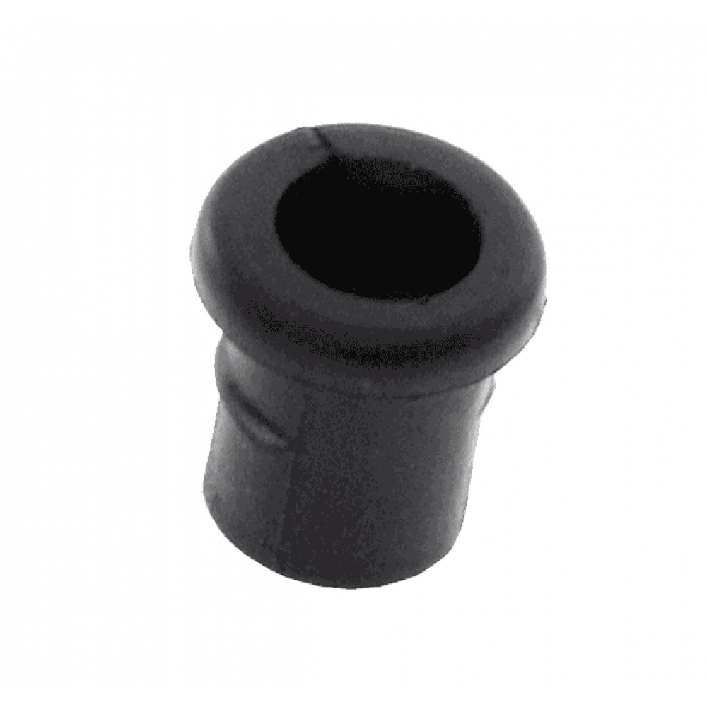 Grommet Black with 6.2mm Centre Hole Flat Surface