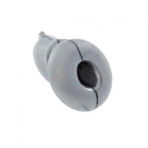 Grommet Grey with 4.2mm Centre Hole 37 Deg Flat Surface