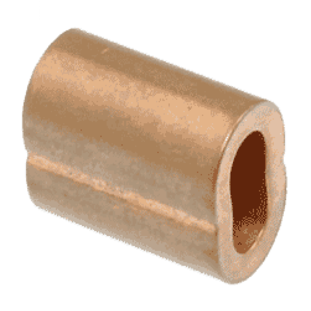 Swage Sleeve/Ferrule suits 10mm Wire Clamp Copper