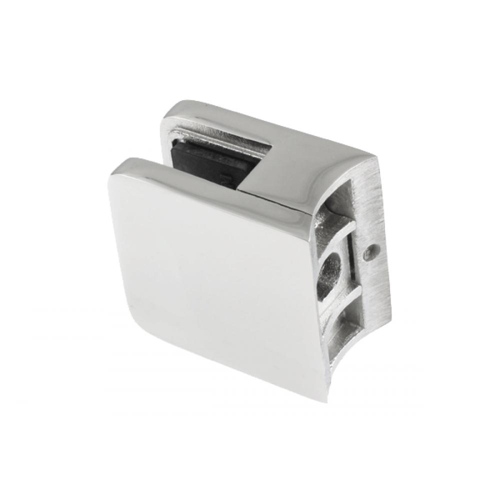 Glass Clamp Model 40 SQ Shape RND Back Mirror