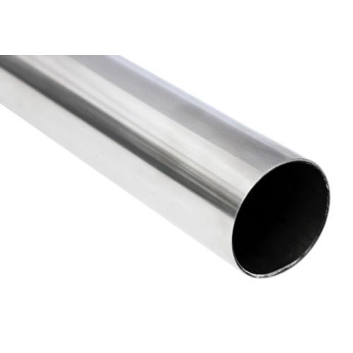Tube Round 25.4mm (1 inch) x 1.6mm Mirror Polish Per Metre