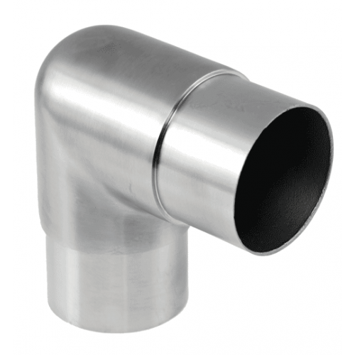 Flush Elbow 90 degree suits 1.6mm 2 inch tube satin finish ProRail AISI 316