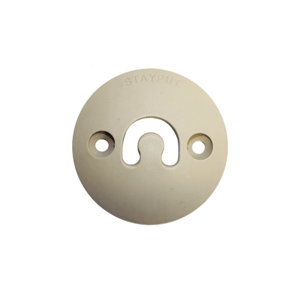 Stayput Dome Hook 60mm Vertical Cement