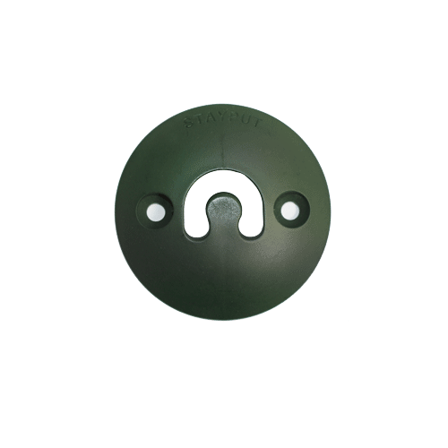 Stayput Dome Hook 60mm Vertical Green