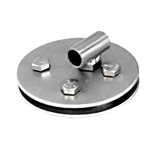 Corner Disc 150mm with Welded Tube