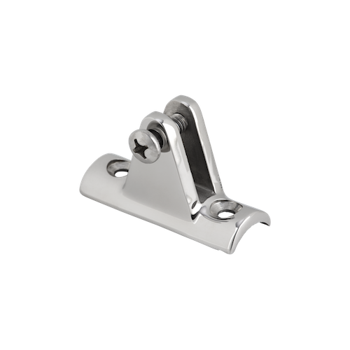 Deck Hinge Concave Base 90 Degree Mirror Polish AISI 316