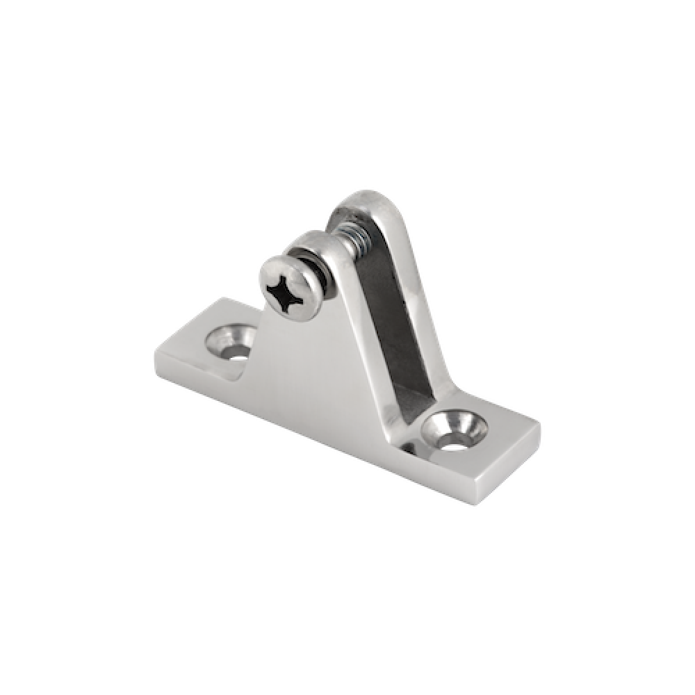 Deck Hinge 90 Degree Mirror Polish AISI 316