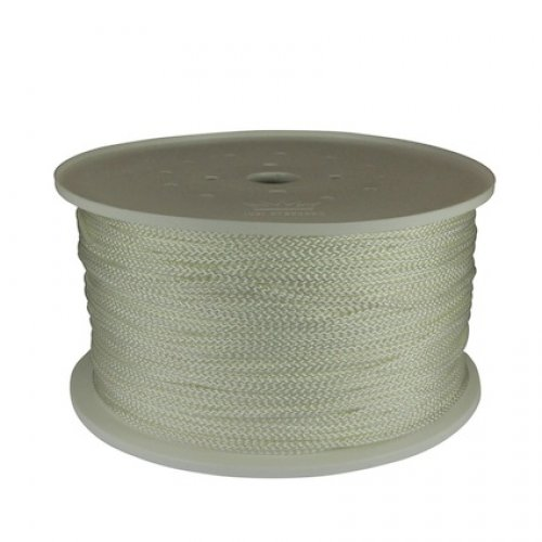 Leech Cord 4mm 400m Roll White