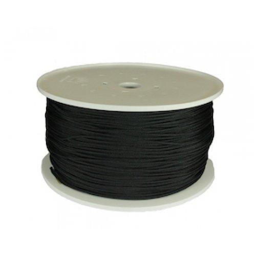 Leech Cord 4mm 400m Roll Black