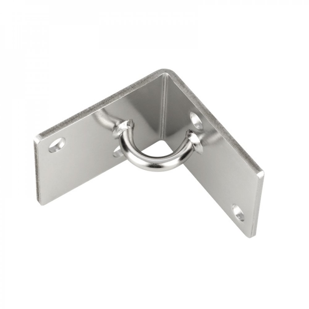 Internal Corner Bracket 100 x 100mm Stainless AISI304