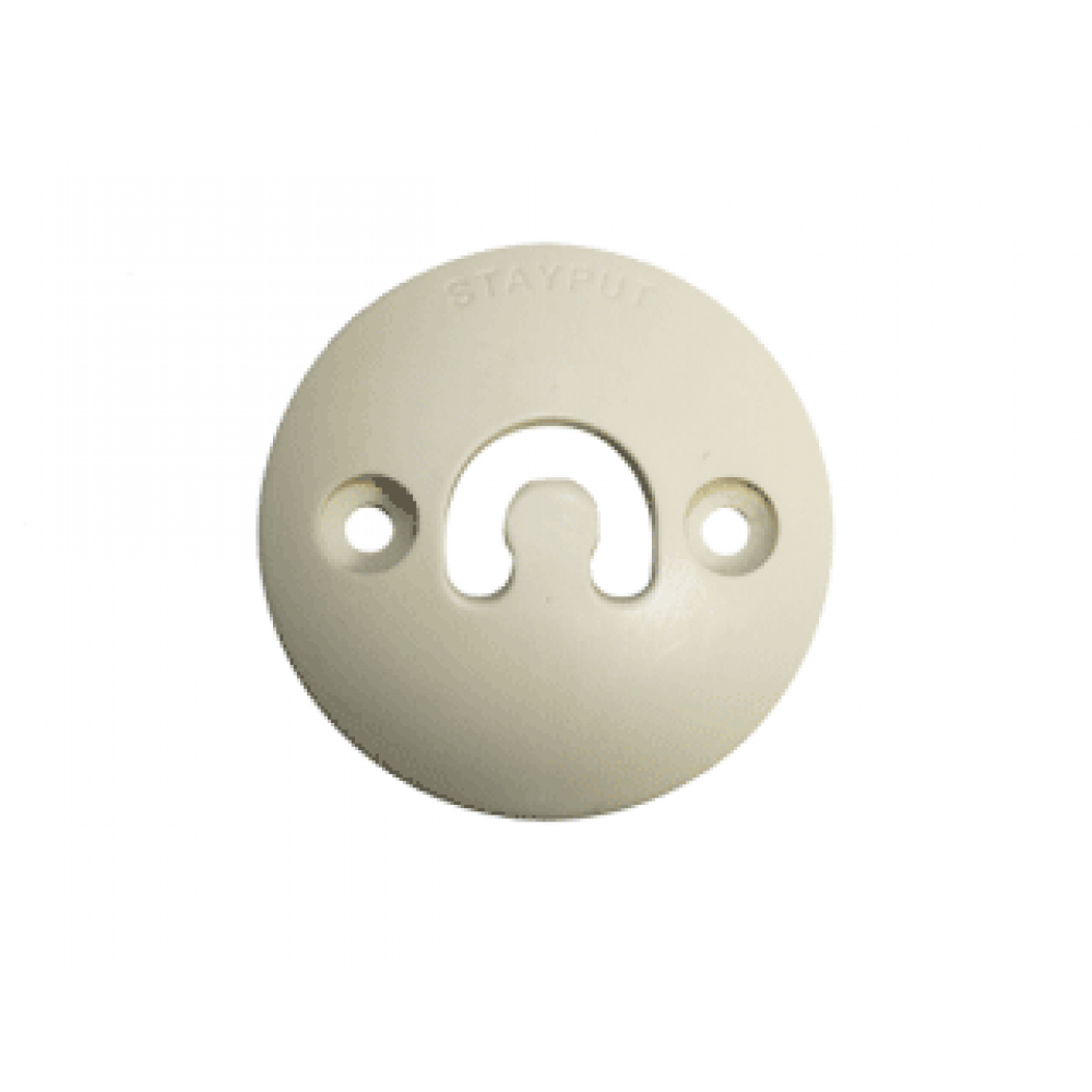 Stayput Dome Hook 60mm Vertical Ivory