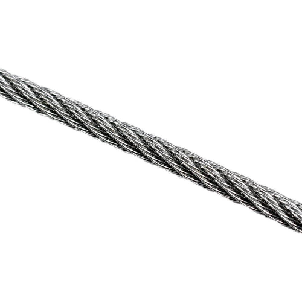 Wire Rope 2.5mm 7x7 ProRig AISI 316 per Metre