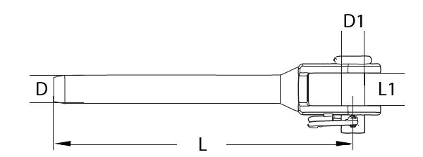 Fork terminal