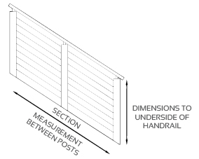 Balustrade Builder Checklist - Dimensions