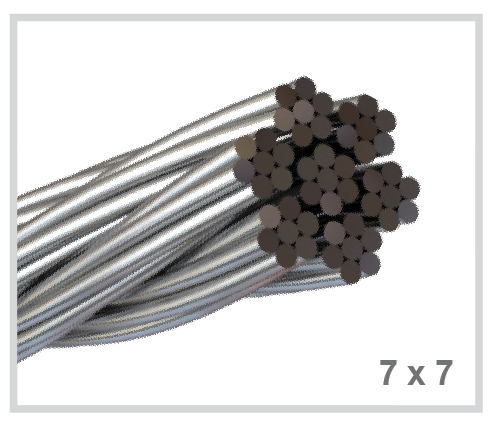 Best Quality Stainless Wire Rope 1x19 7x7 7x19